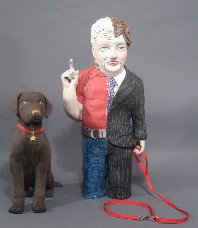 Bill N' Buddy | Political Work | Cheryl Harper