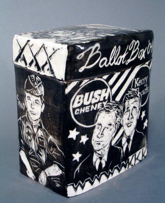 Ballot Box 2004 | Ballot Boxes | Cheryl Harper
