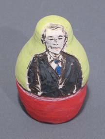 BaBUSHka Bush Doll | Political Works | Cheryl Harper