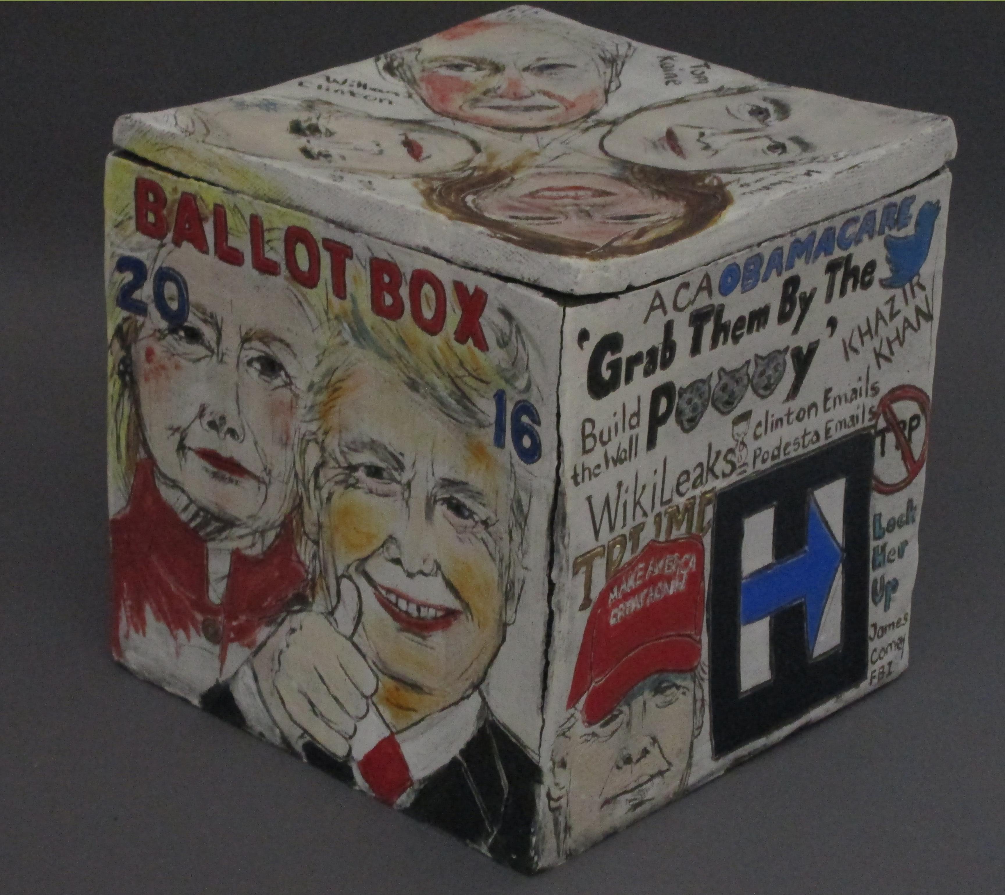 Ballot Box 2016 | political works | Cheryl Harper