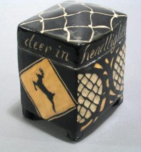 Deer in Headlights (back) | Boxes | Cheryl Harper