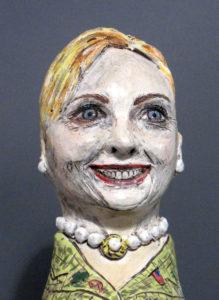 Hillary Sphinx I | Political Works | Cheryl Harper