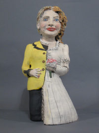 Hillary Bride Doll | Political Work | Cheryl Harper
