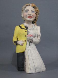 Hillary Bride Doll | Political Work | Cheryl Harper