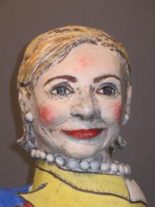 Hillary Sphinx II   Political Works   Cheryl Harper