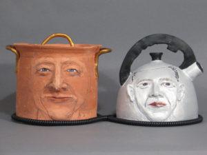 Pot Calling The Kettle | Political Work | Cheryl Harper