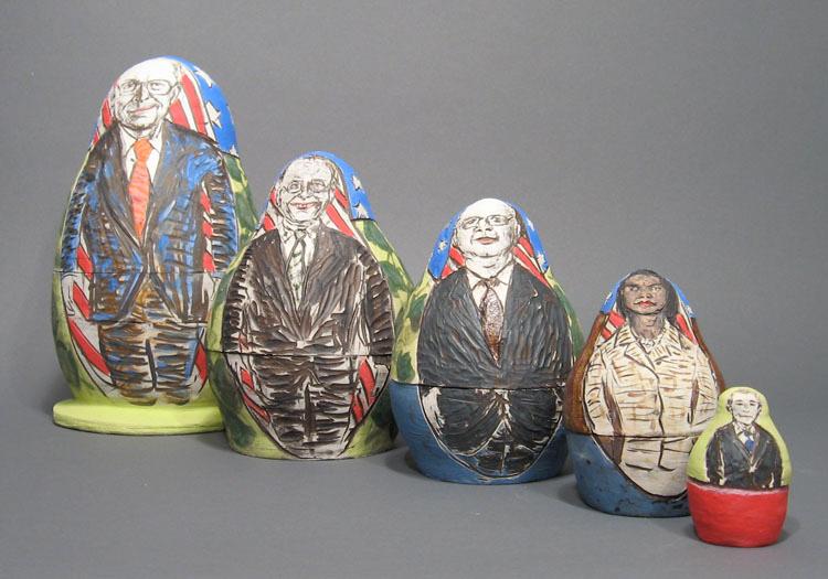 BaBUSHka Dolls | Political Works | Cheryl Harper