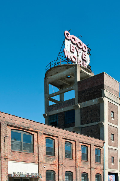 Reese Terris installation, Good Bye Work in Catagenesis